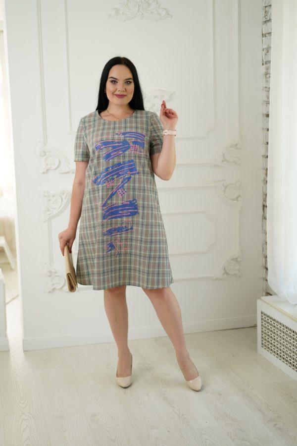 Лама платье (беж)