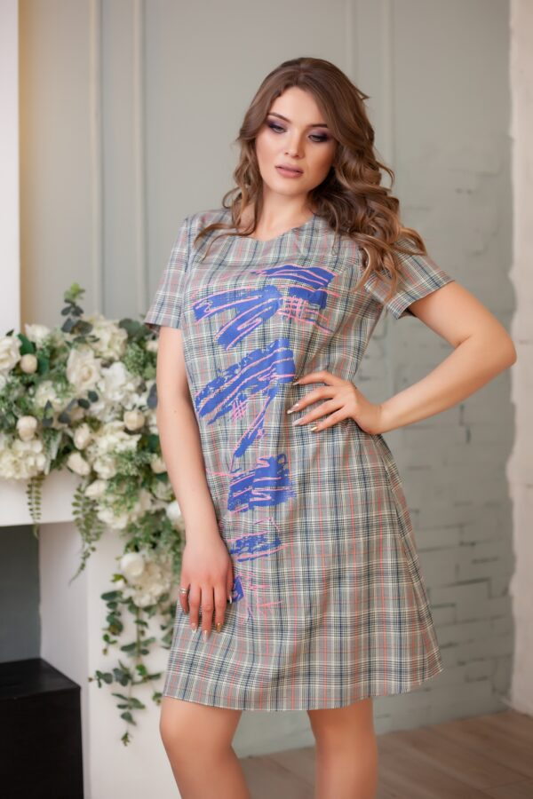 Лама платье