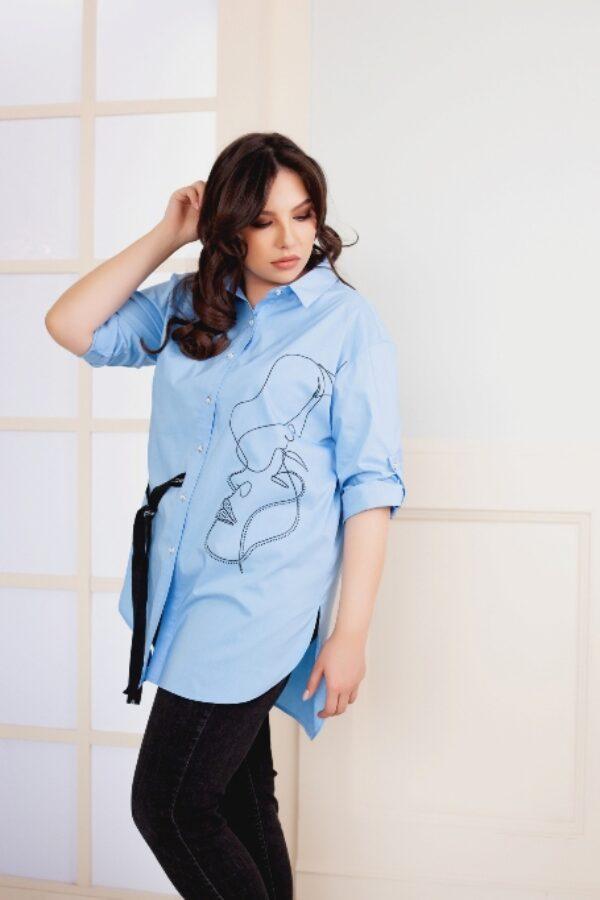 Аргемон рубашка (голубой)