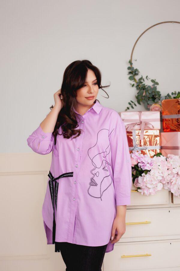Аргемон рубашка (лиловый)