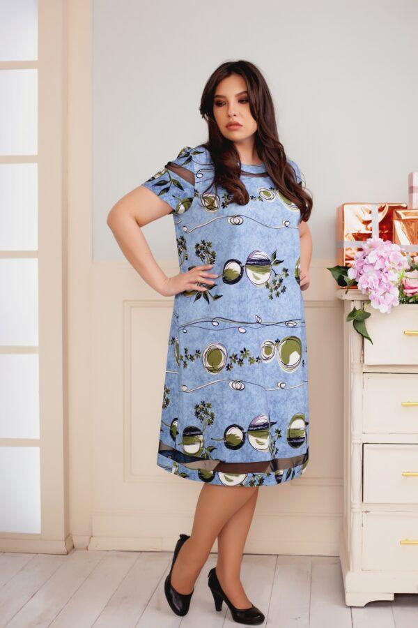 Адлер платье (голубой)