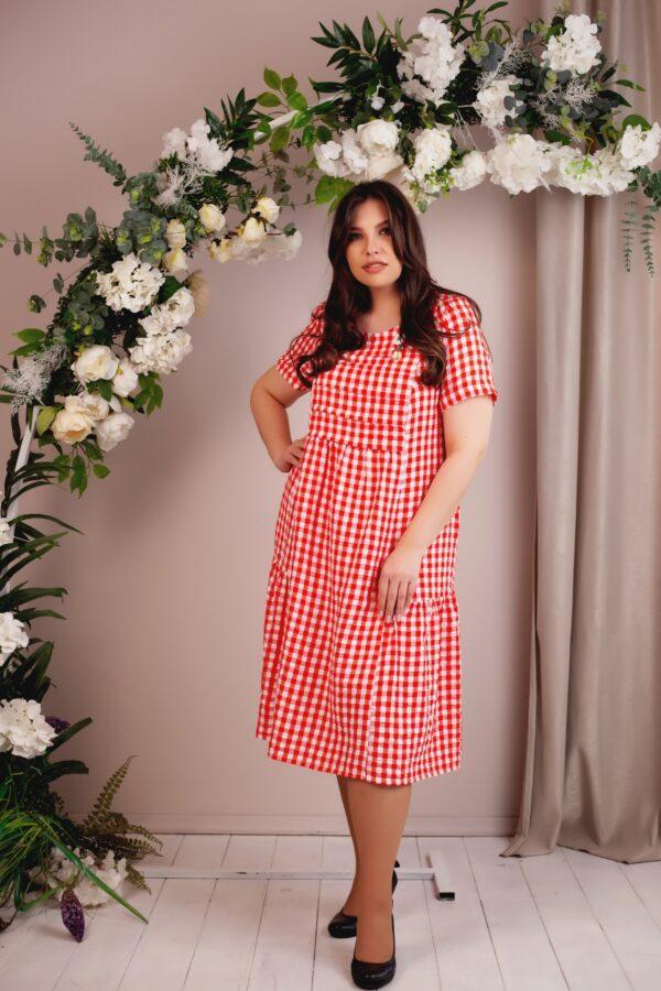 Верона платье (красный)