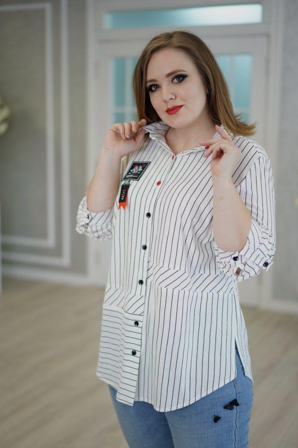 Адара рубашка (белый)