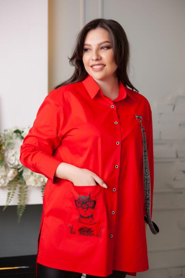 Аргентина рубашка (красный)