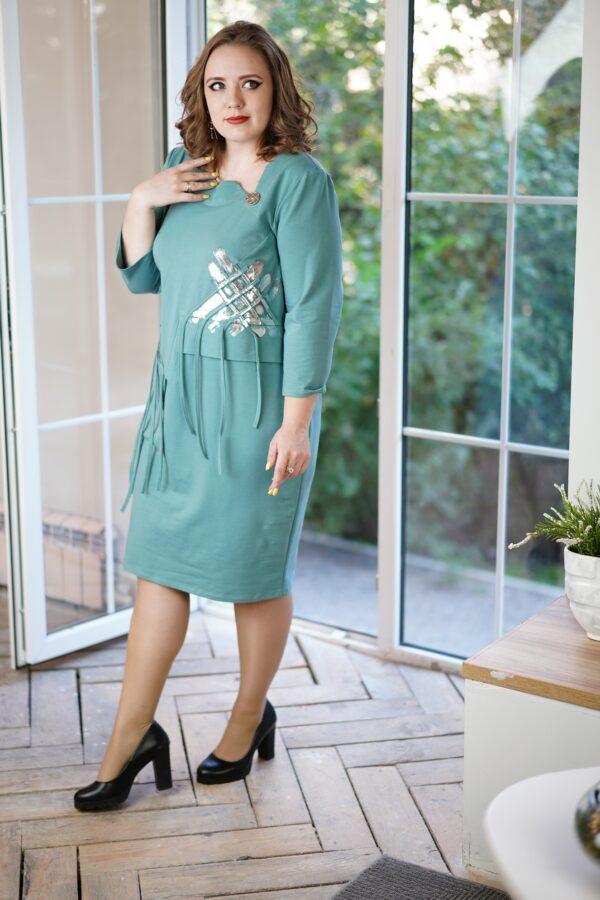 Квартет платье (мята)