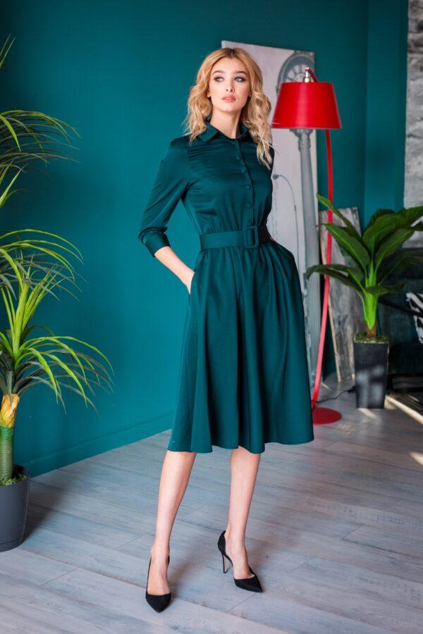Балерина платье (зеленый)