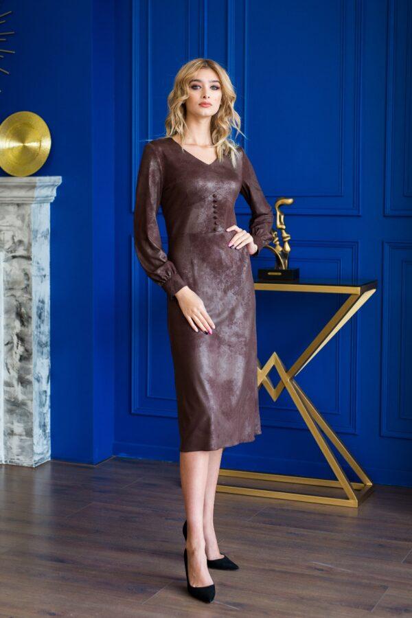 Бекки платье (коричневый)