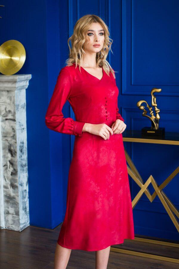 Бекки платье (красный)