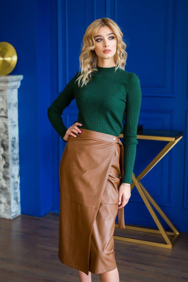 Ирга юбка (коричневый)