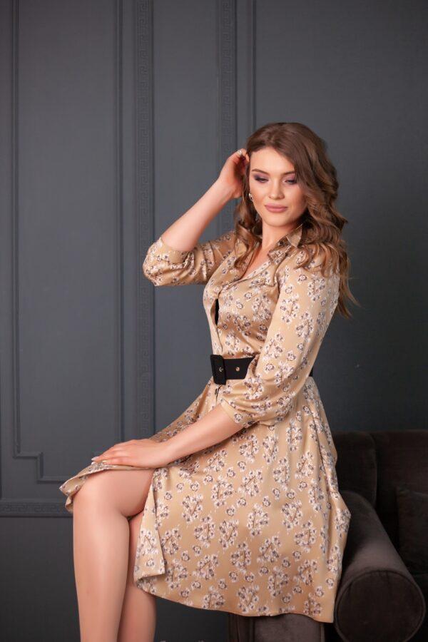 Дельта платье (бежевый)