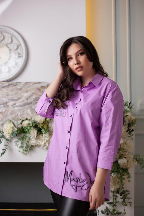 Азулина рубашка (сиреневый)