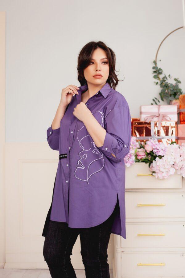 Аргемон рубашка (фиолетовый)