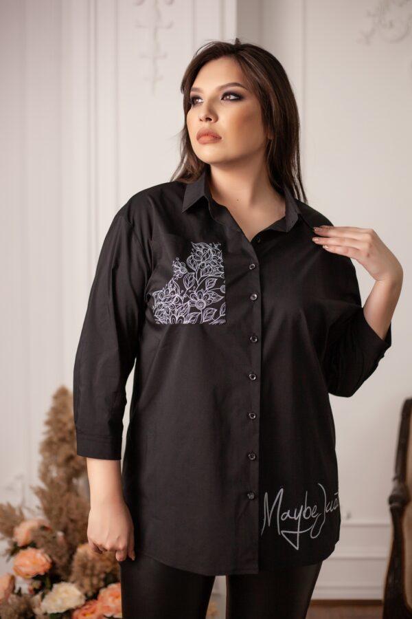 Азулина рубашка (черный)