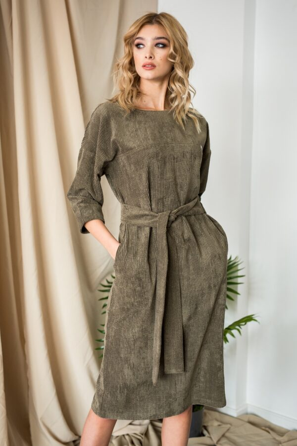 Сова платье (хаки)