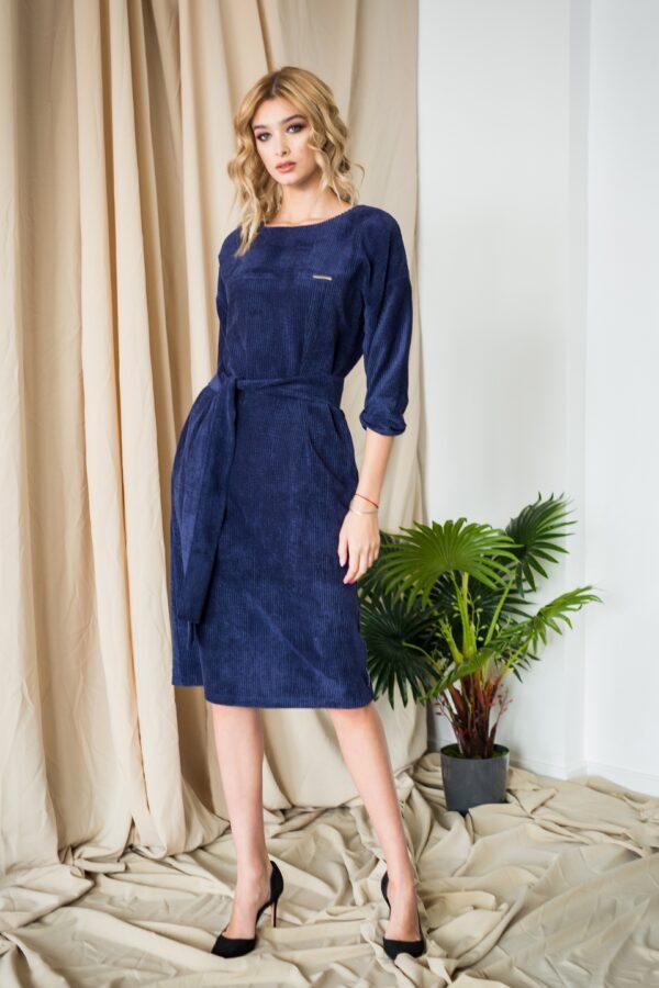 Сова платье (синий)