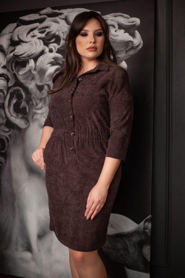 Такт платье (шоколадный)